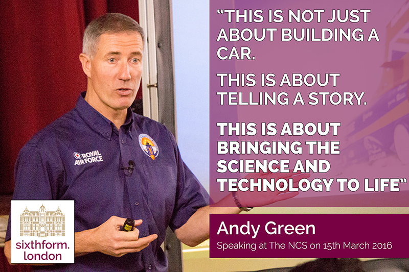 Andy Green discusses Bloodhound SSC at The NCS