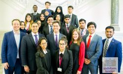 Ed Miliband speaking at The NCS